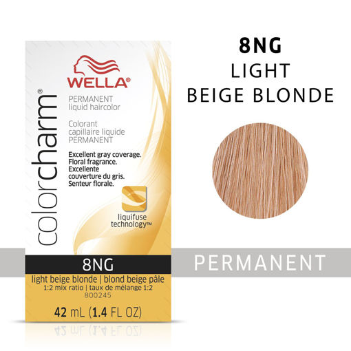 Picture of Wella Color Charm Color 8NG Light Beige Blonde 42ml