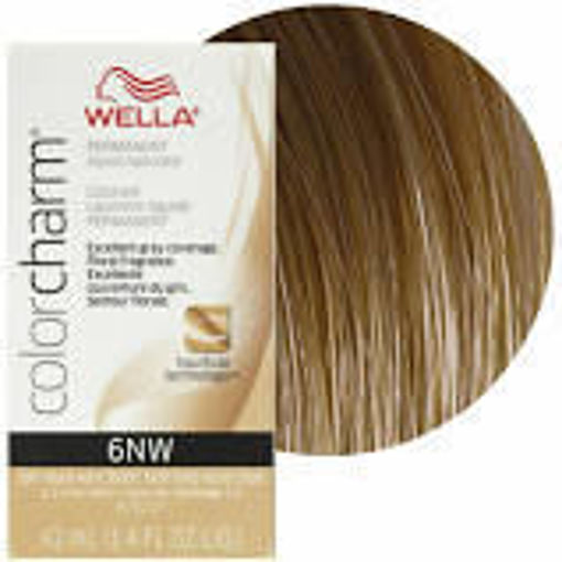 Picture of Wella Color Charm (liquid) 6NW Dark Natural Warm Blonde 42ml