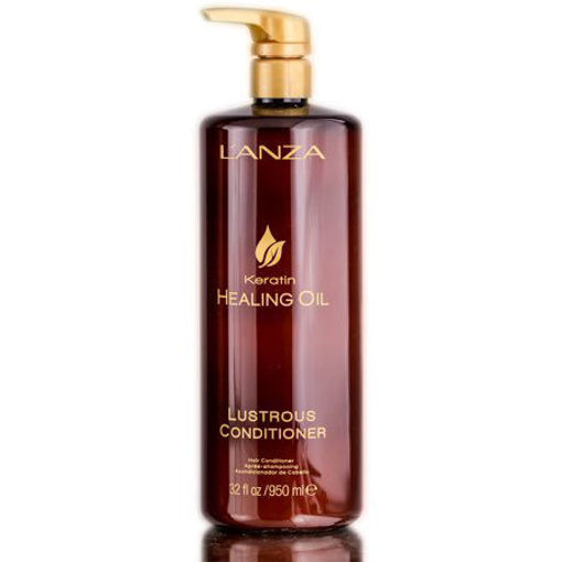Picture of lanza keratin healing oil lustrous conditioner 1l