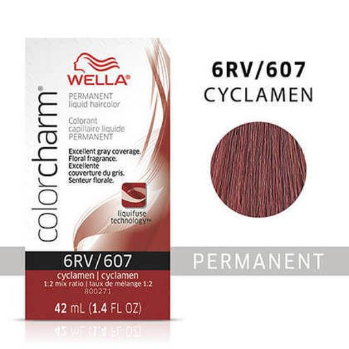 Picture of Wella Color Charm (liquid) 6RV/607 Cyclamen 42ml