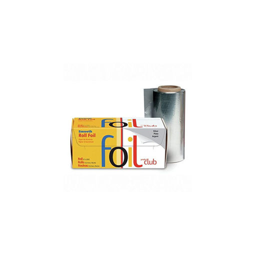 Picture of product club smooth foil roll, silver, 5x250inch
