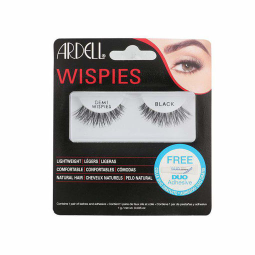 Picture of ardell natural eyelashes demi wispies black