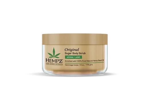 Picture of hempz original herbal sugar body scrub 7oz