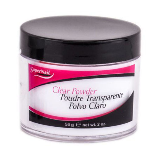 Picture of nail supplements: super nail clear powder 2oz