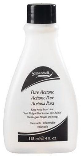 Picture of super nail pure acetone polish remover 4oz