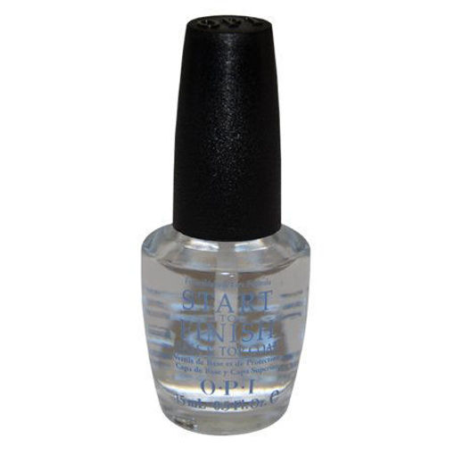 Picture of opi nail strengthener, start to finish base and top coat 0.5oz