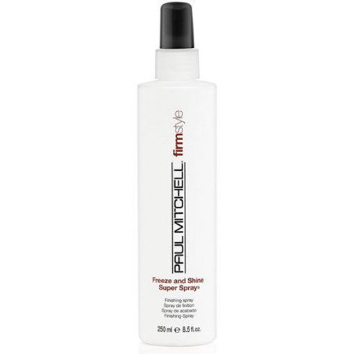 Picture of paul mitchell freeze and shine super color protection finishing hair spray 8oz