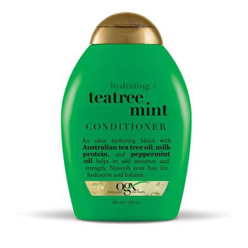 Picture of ogx hydtrating and tea tree mint con 13oz