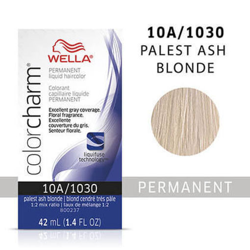 Picture of Wella Color Charm Color 10A/1030 Palest Ash Blonde 42ml